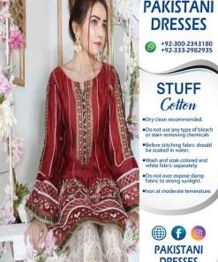 Pakistani Cotton Dresses 2021