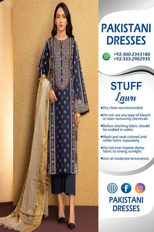 Pakistani Lawn Clothes Collection