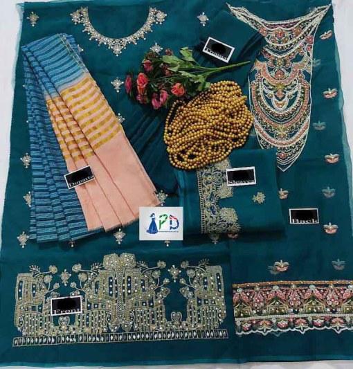 Agha Noor Organza Dresses 2021 Online