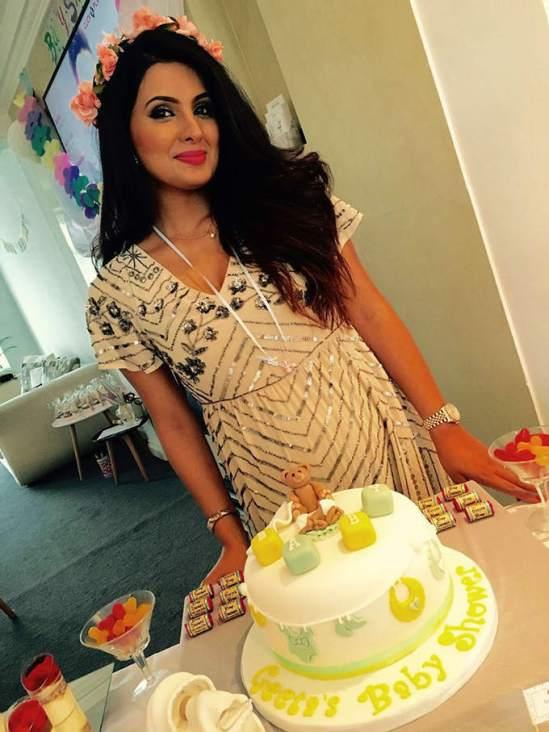 Geeta Basra Pregnant