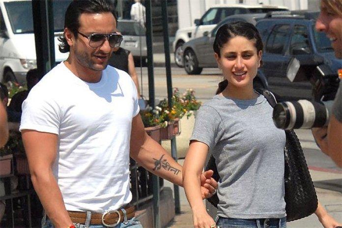 Saif Ali Khan and Kareena Kapoor On a Holiday