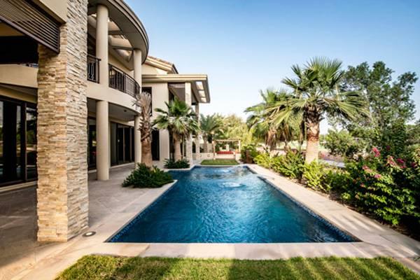 Aishwariya and Abhishek Bachan's Dubai Villa