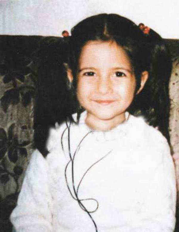 Katrina Kaif's childhood pictures.