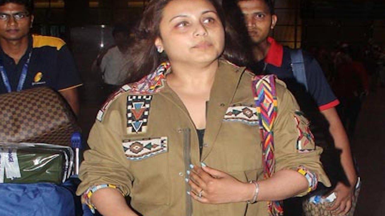 rani mukherji press conference