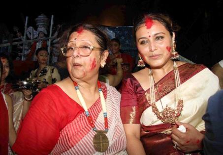 Rani Mukherji after marriage and pregnancy