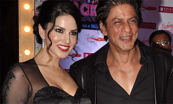Sunny Leone in raees