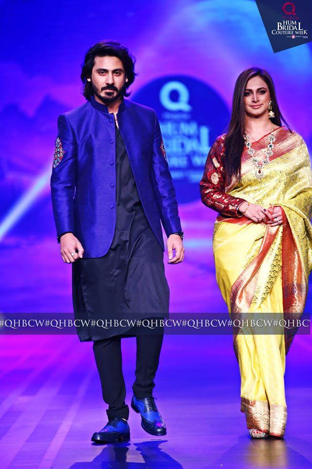 Noor with husband Wali