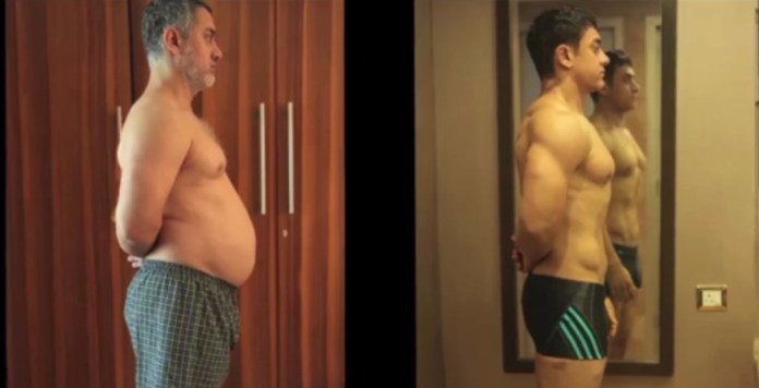 Aamir Khan Body Transformation Dangal