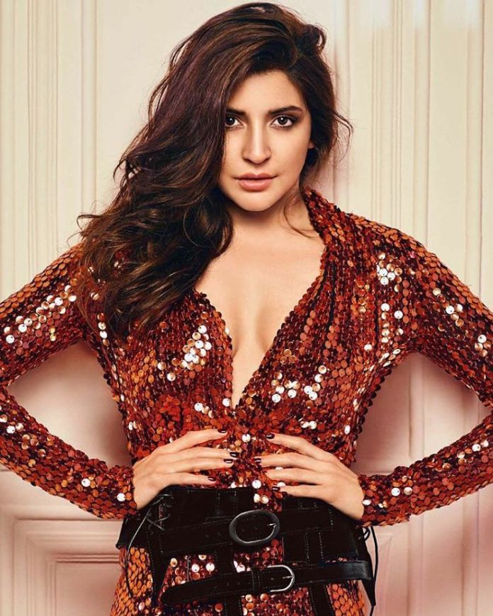Anushka Sharma's Siren Hot Look for GQ India December Cover