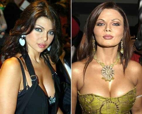 Haifa Wehbe & Rakhi Sawant