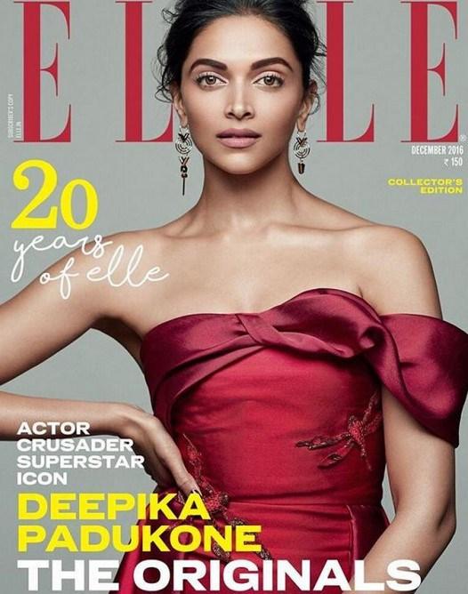 Deepika Padukone Elle Magazine