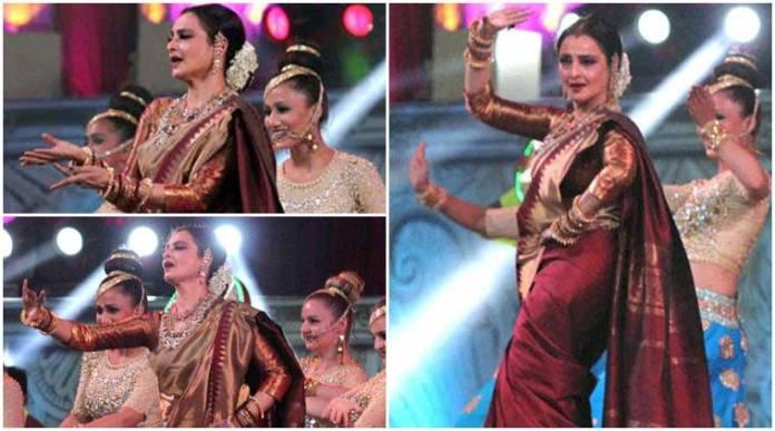 Rekha at Star Screen Awards