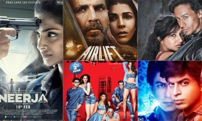 Top Bollywood Songs 2016
