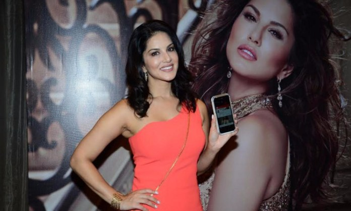 Sunny Leone launches her application