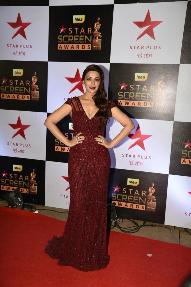 Sonali Bendra at Star screen awards