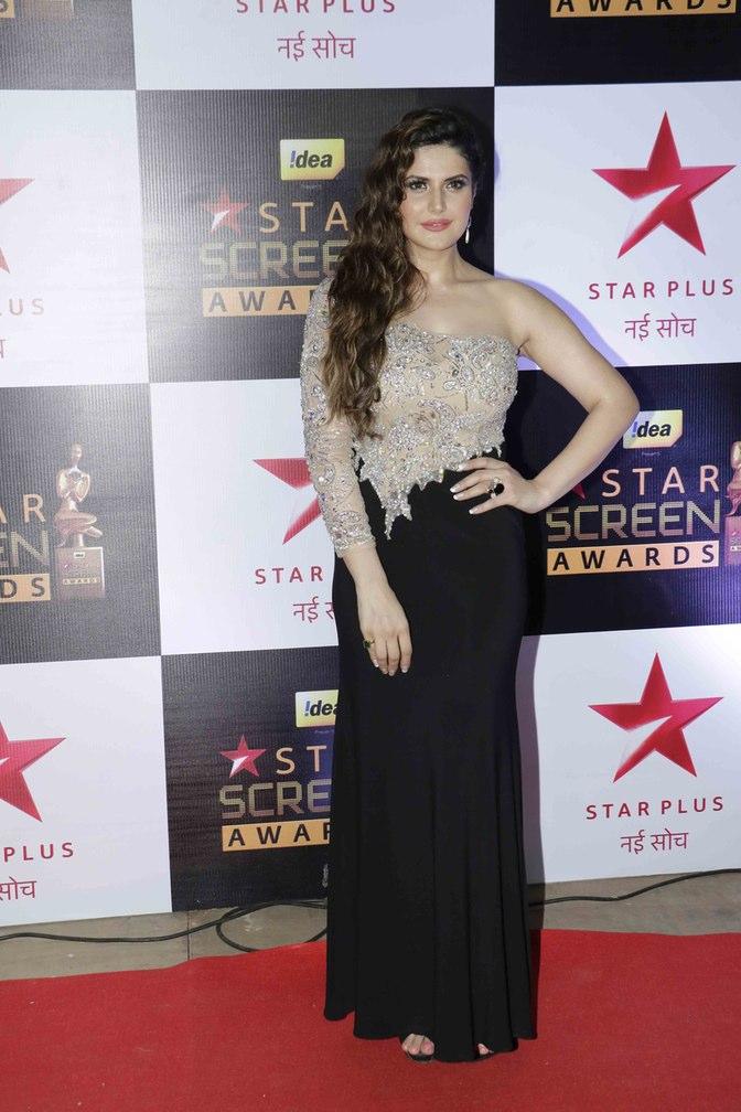 The hot Sunny Leone at star screen awards