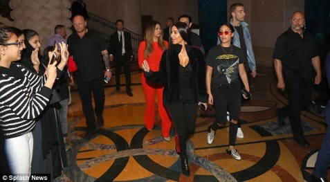 Kim Kardashian in Dubai