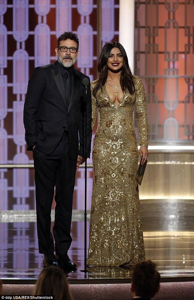 Priyanka Chopra Golden Globe 2017