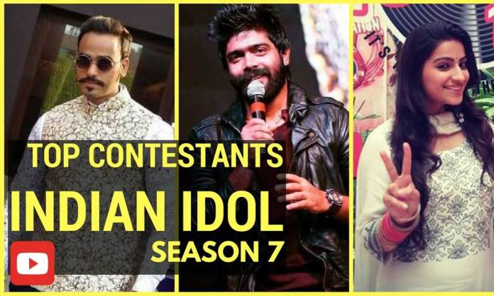 Top-Indian-Idol-Contestants-2017