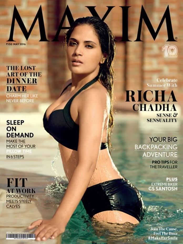 Richa Chaddha Bikini