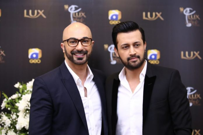 Atif Aslam Lux Awards