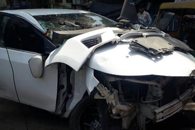 Sonika Chauhan-Car Accident