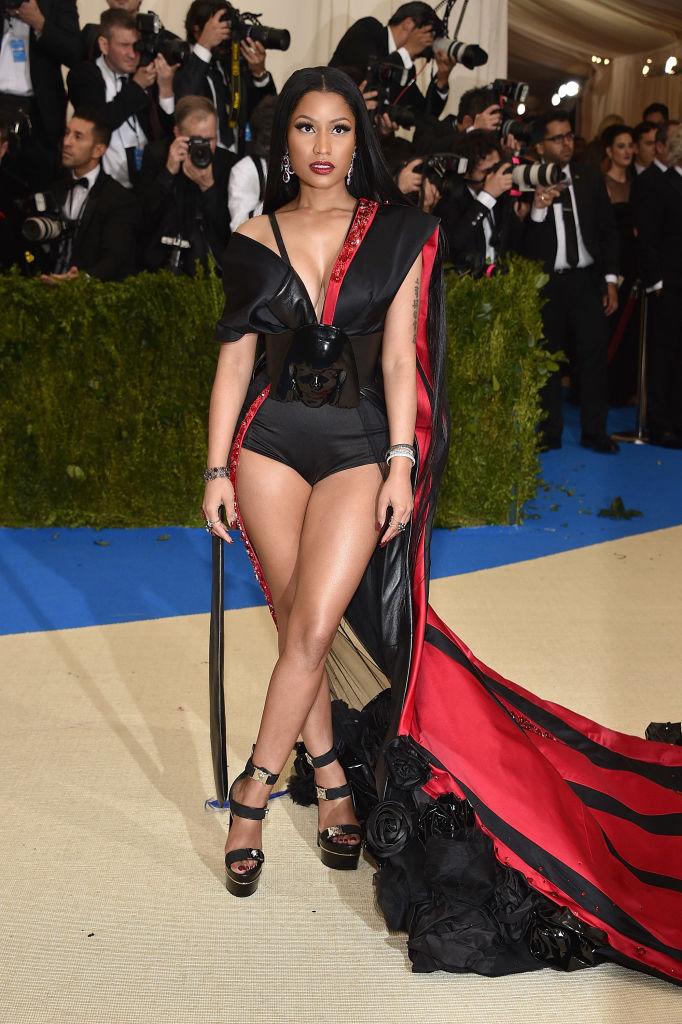 Nicki Minaj-Met Gala 2017