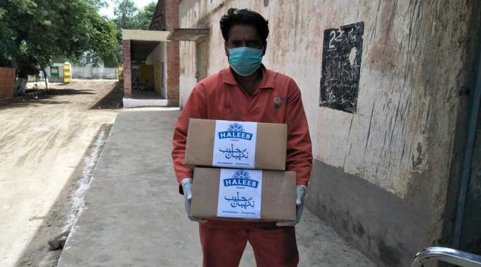 Haleeb Foods begins its contributions for relief against COVID