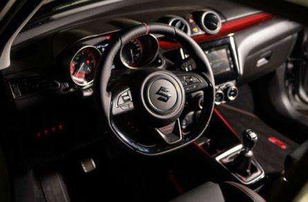 Suzuki Swift Sport 2002 Interior 3