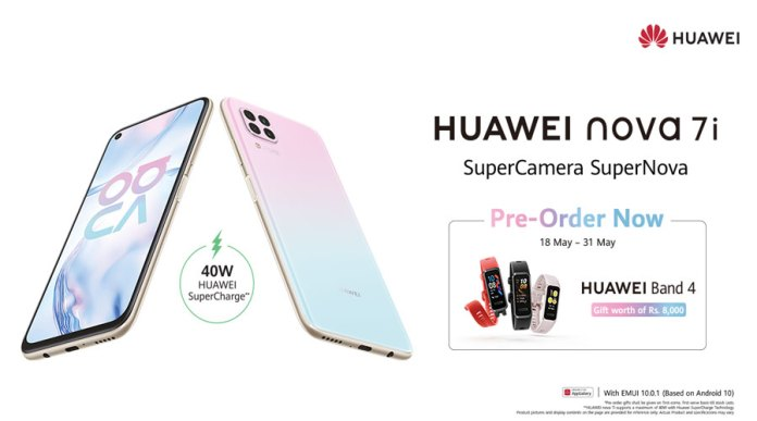 HUAWEI Nova 7i Dominating its Price Segment in Pakistan with Unmatched Features