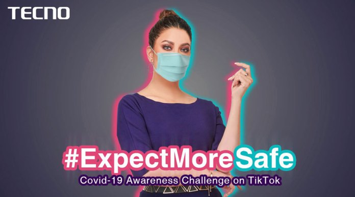 TECNO to launch its Covid-19 CSR campaign with their brand face, Mehwish Hayat