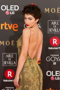 Úrsula Corberó fashion show beautiful picture