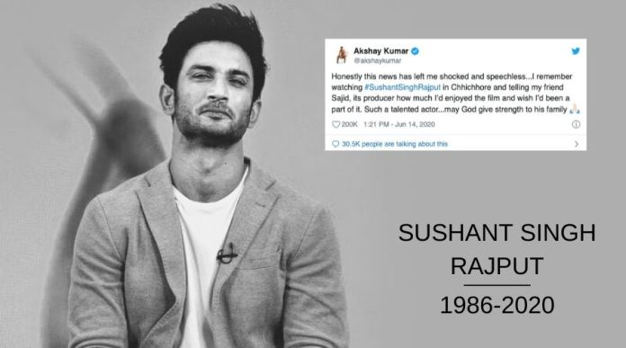 Bollywood celebrities Grief Over Sushant Singh Rajputs Death1