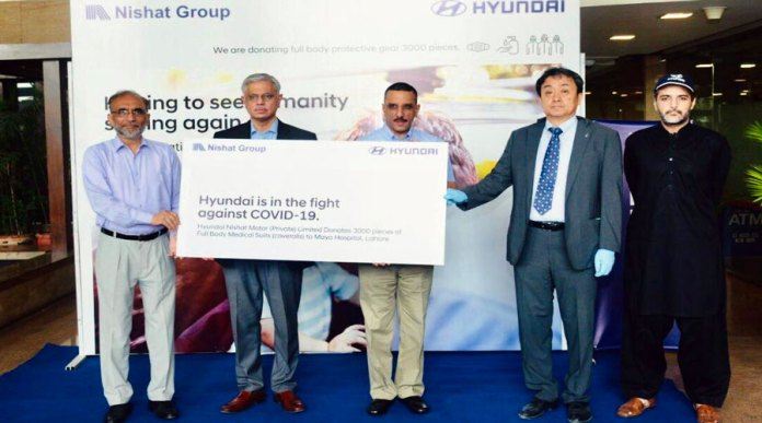 Hyundai Donates 3,000 PPE's To Pakistan To Help Fight COVID-19
