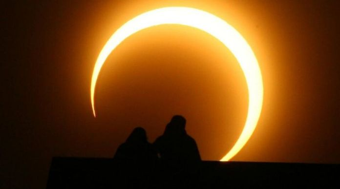 Solar Eclipse (Ring of Fire) in Pakistan - Images from Karachi, Lahore, Islamabad