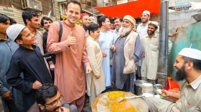 YouTubers hospitality in Pakistan western