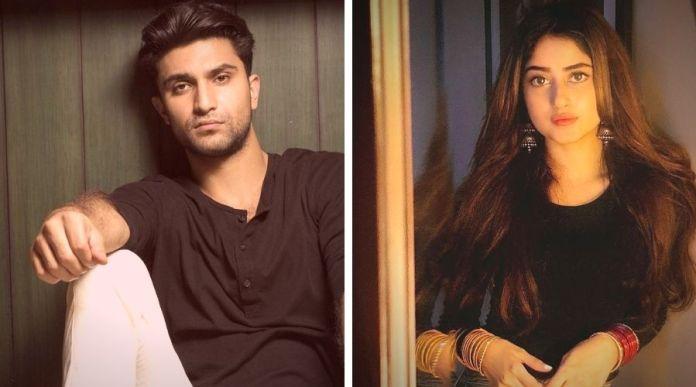 Ahad Raza Mir and Sajal ali new web series Dhoop ki Deewar