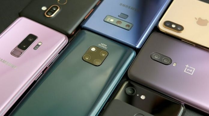 Mobile phone imports increased almost double