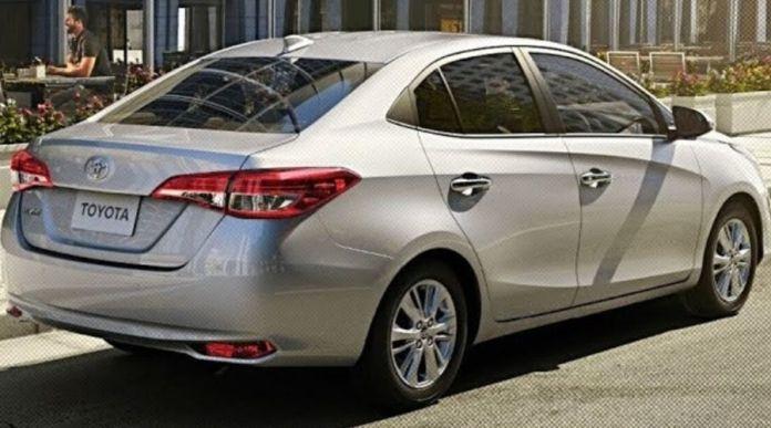 Toyota Yaris 2020 rear