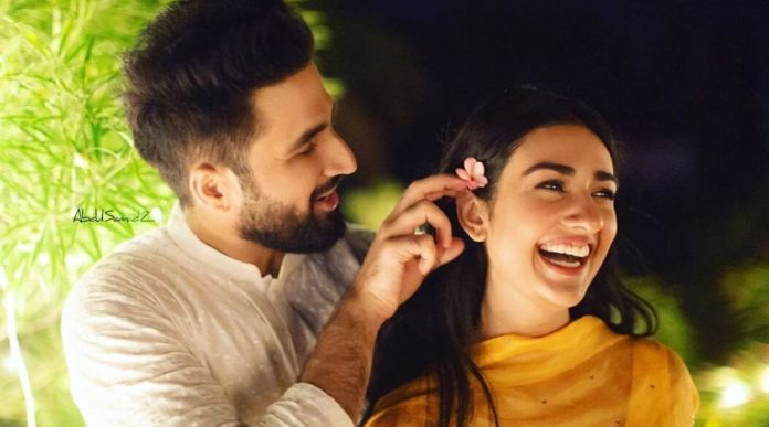 Falak and Sarah bursting with laughter 4