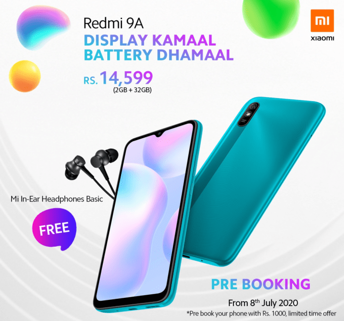 redmi xiaomi 9a specifications features