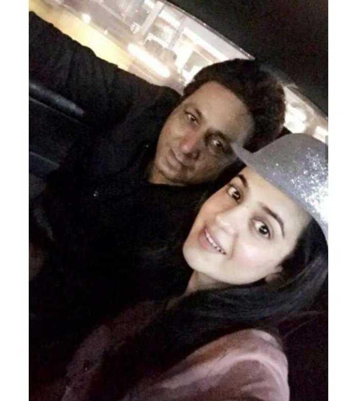sumbul with nadeem kiyani