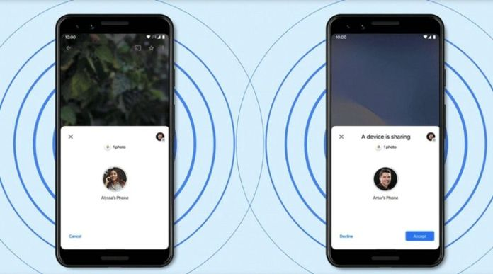 Google Launches 'Nearby Share' file sharing feature for Android- AirDrop Alternative
