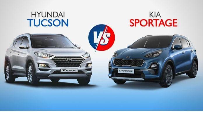 Kia Sportage VS Hyundai Tucson 2020: Head-to-Head comparison