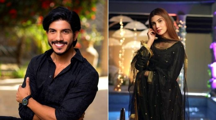 Mohsin Abbas Haider, Nazish Jahangir to pair up for a Drama