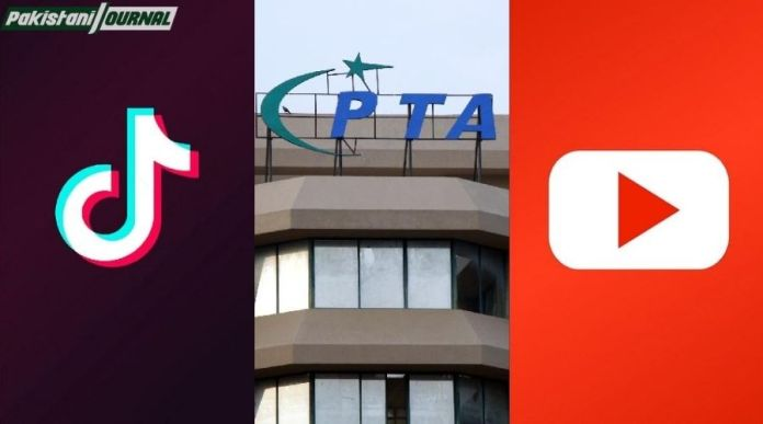 PTA ordered TikTok and YouTube to regulate and block vulgar content