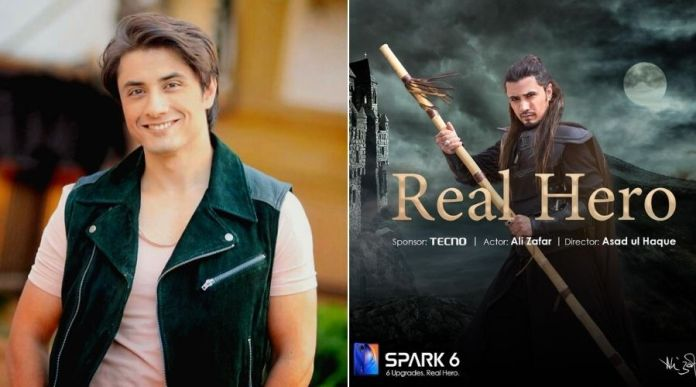 Ali Zafar appointed by 'Tecno' as the REAL HERO, The Brand Ambassador of Spark 6