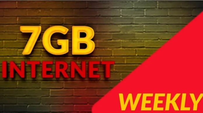 Jazz Weekly Mega 3G/4G Internet Package details For Weekly Activation