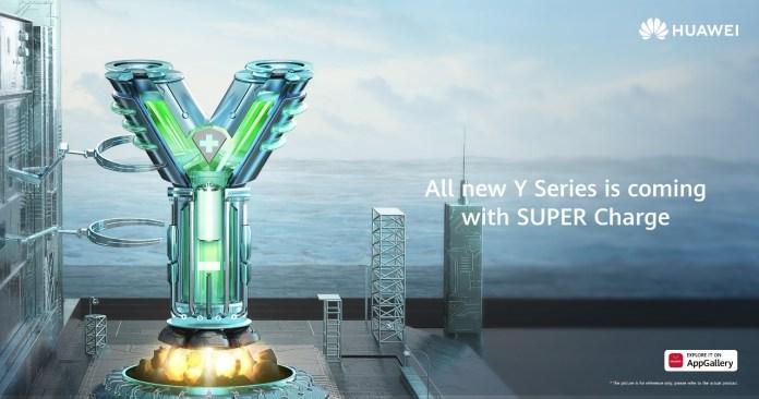 Huawei Y series Super Charge