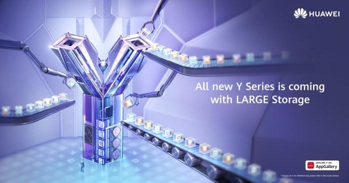 Huawei Y Series Large Storage